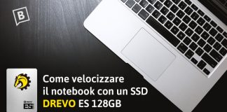 Come velocizzare il notebook con un SSD Drevo ES 128Gb