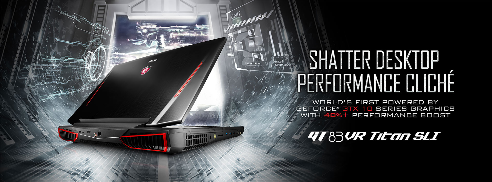 MSI - Il più potente notebook gaming