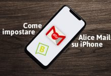 Come impostare Alice Mail su iPhone